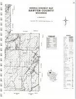 Map Image 041, Sawyer County 1972